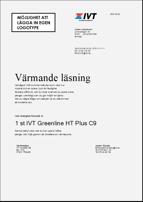 Ivt greenline 4 manual